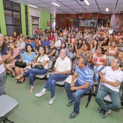 Elinaldo se reúne com novos gestores das unidades de saúde de Camaçari