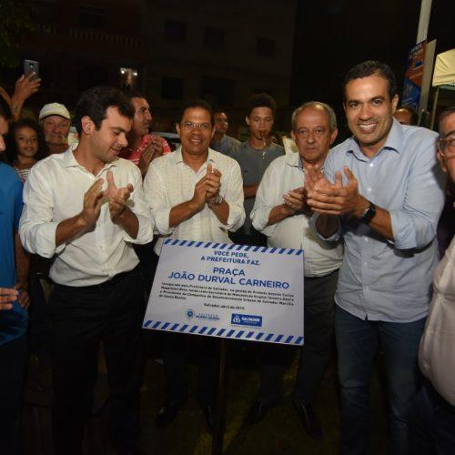 Prefeitura entrega espaço de lazer no Alto do Coqueirinho