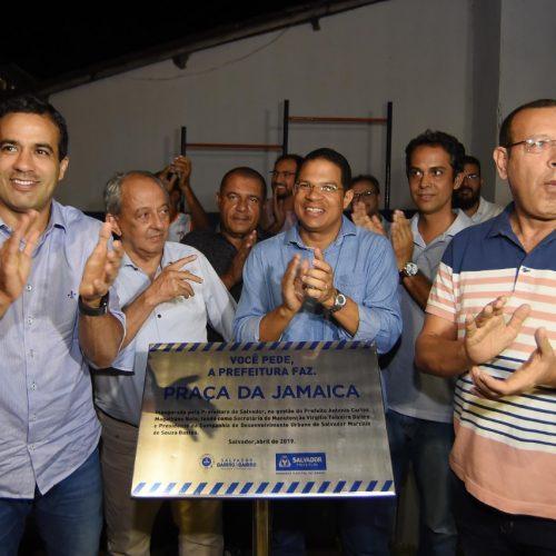 Bruno Reis entrega espaço de lazer e convivência a moradores de Sussuarana