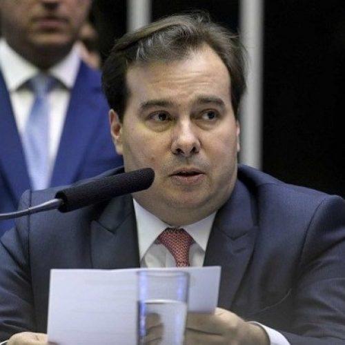 Maia cobra por esforço de Bolsonaro pela reforma da Previdência