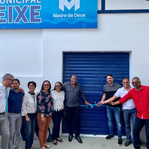 Prefeitura de Madre de Deus inaugura Mercado Municipal do Peixe